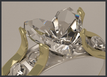 jewelry design gomb